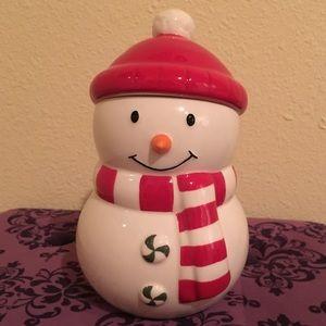 Hallmark Snowman Jar